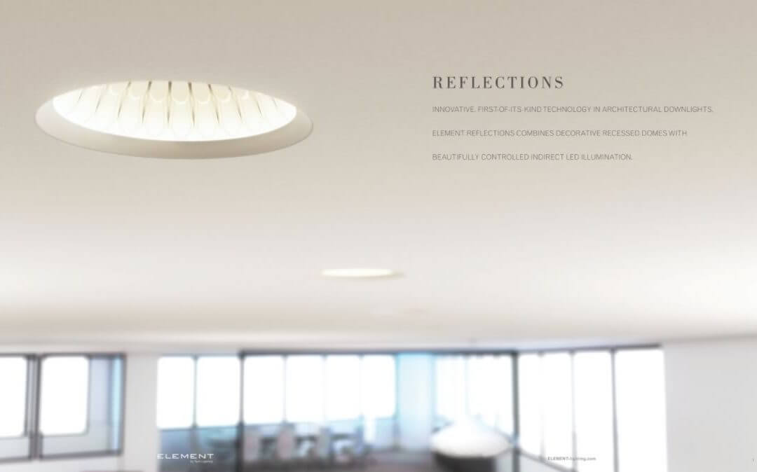 element reflections decorative recessed