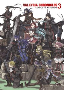 ValkyriaChronicles3_Complete_Artworks