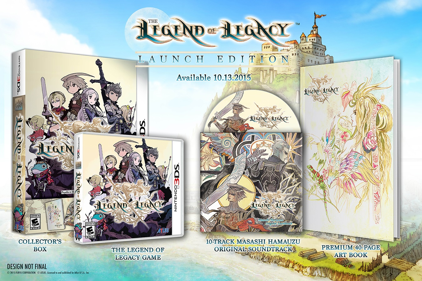 Legend of Legacy Releases on October 13th in North America
