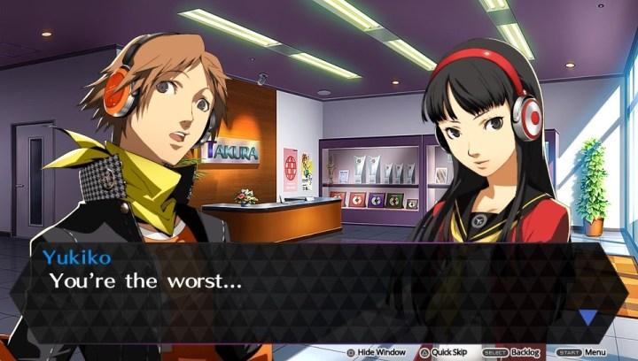 P4AD Yukiko Yosuke the worst