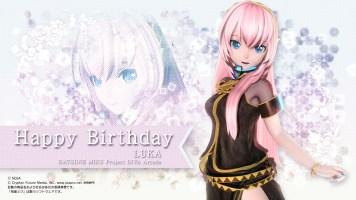 Luka Birthday - Project DIVA Arcade Wallpaper