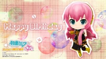 Luka Birthday - Project Mirai Wallpaper