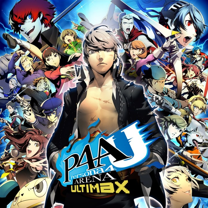 Persona 4 Ultimax PlayStation Store Boxart