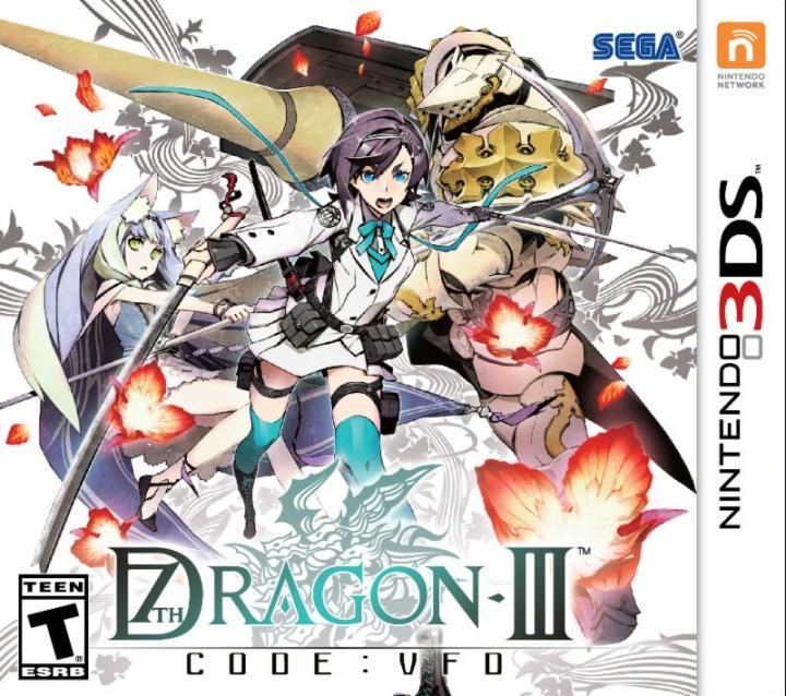 7th Dragon III Code VFD English Boxart