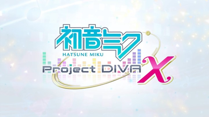 Project DIVA X Logo English