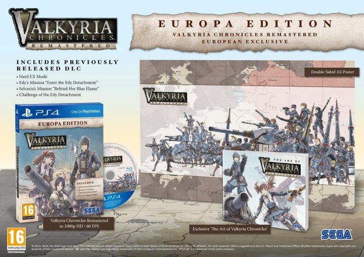 Valkyria Chronicles Remaster Europe Edition