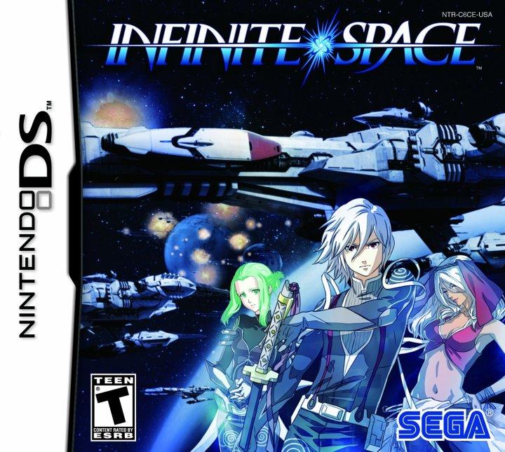 Infinite Space US Boxart