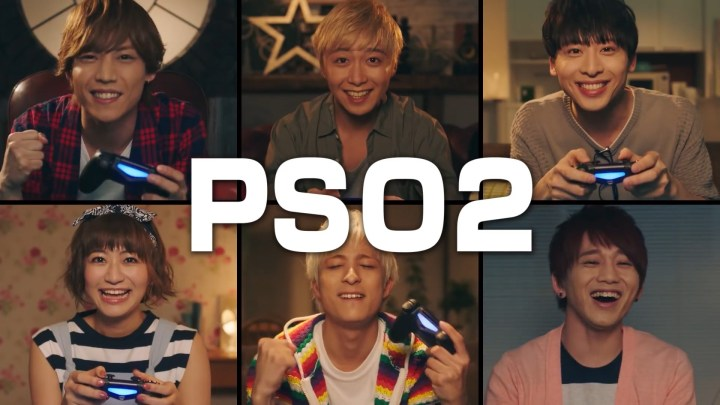 PSO2 Web Commercial PS4