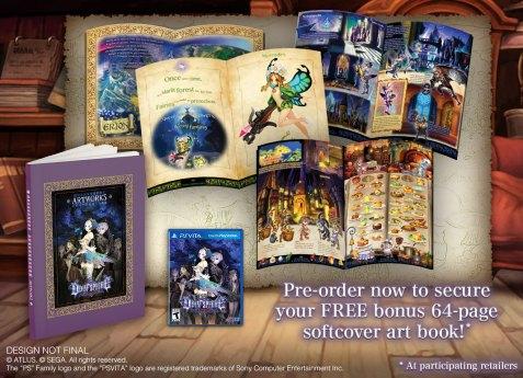 Odin Sphere Leifthrasir - Paperback Artbook PS Vita