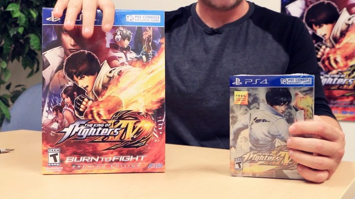 The King of Fighters XIV Unboxing Video