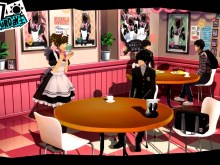 Persona 5 Maid Cafe Trailer