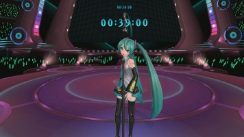 You can also join Miku on stage.