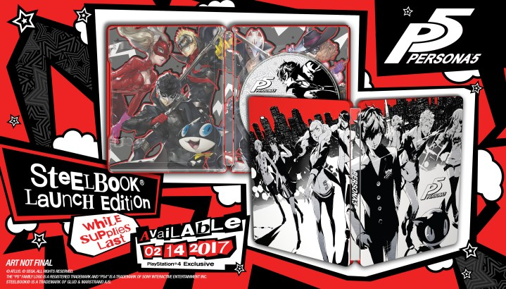 Persona 5 - PS4 Glamshot Updated