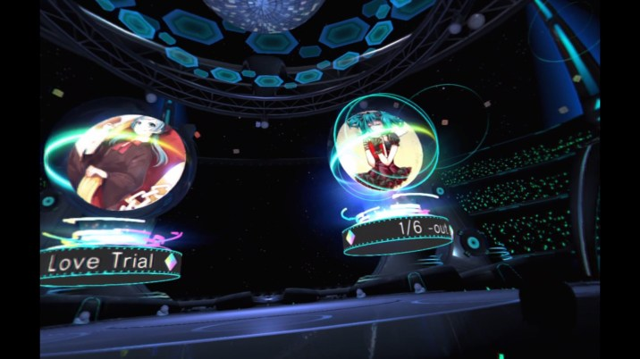 Hatsune Miku VR Future Live - Song Selection 1