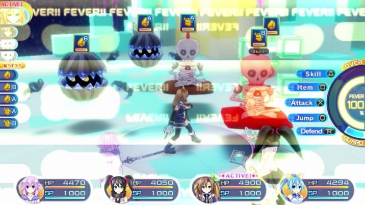 Superdimension Neptune VS SEGA Hard Girls Review - Fever Mode