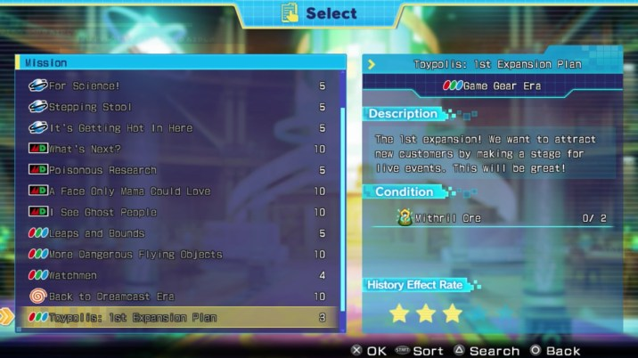 Superdimension Neptune VS SEGA Hard Girls Review - Quests