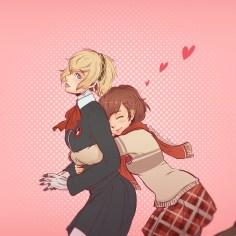 Aegis and Minako Valentine's Day