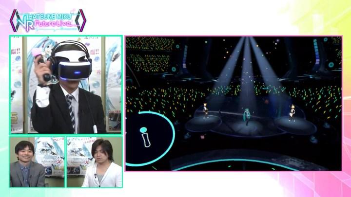 Hatsune Miku VR Future Live 2nd Stage Demo