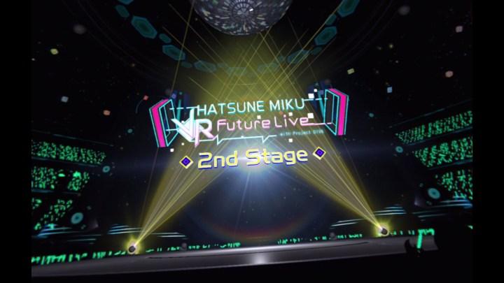 Hatsune Miku VR Future Live 2nd Stage Mini Review