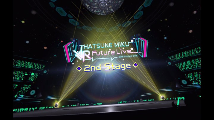 Hatsune Miku VR Future Live 2nd Stage Mini Review
