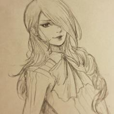 Mitsuru sketch