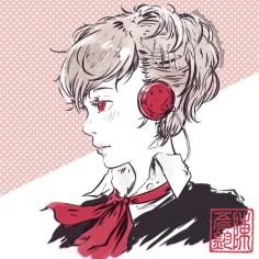 Minako sketch (Persona 3)