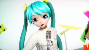 Hatsune Miku Project DIVA Future Tone 2nd DLC - Your Body Temperature 1080P 1