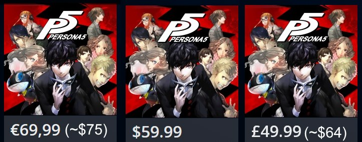 Persona 5 Pre-Order Available on PlayStation Store, Includes