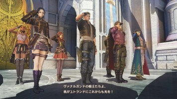 Valkyria Azure Revolution - PS Vita VS PS4 - 2A