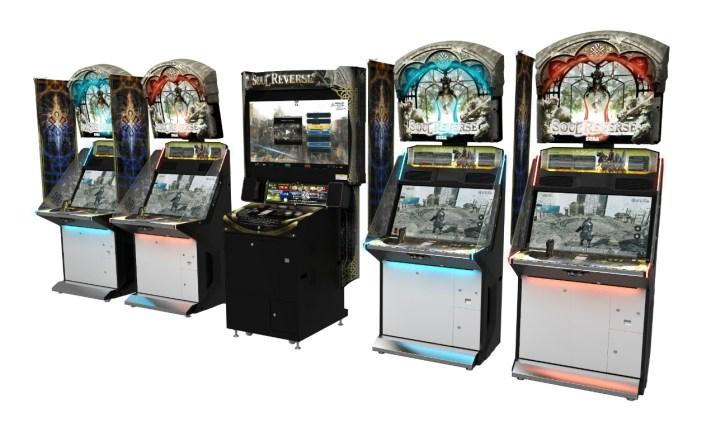 JAEPO 2017 - Soul Reverse - Arcade Cabinet