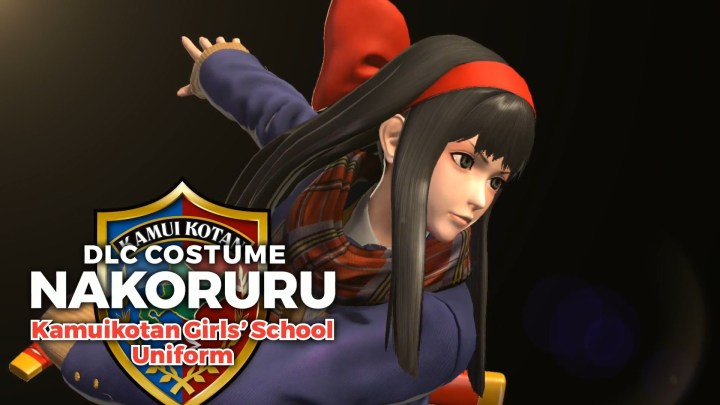 KOFXIV Kamuikotan Girls' School Uniform Nakoruru DLC Trailer