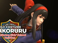 KOFXIV Kamuikotan Girls' School Uniform Nakoruru DLC Trailer