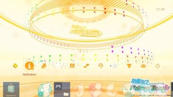 Hatsune Miku- Project DIVA Future Tone - Dynamic Theme CT - Top