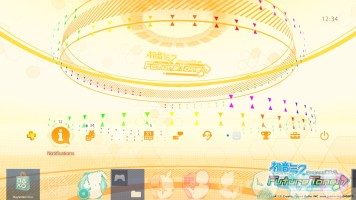 Hatsune Miku- Project DIVA Future Tone - Dynamic Theme CT - Top