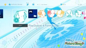 Hatsune Miku- Project DIVA Future Tone - Dynamic Theme FS - Bottom