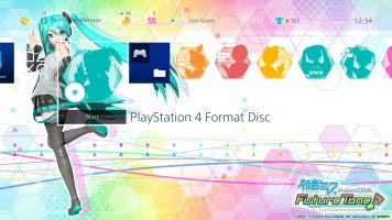 Hatsune Miku- Project DIVA Future Tone - Static Theme - Bottom