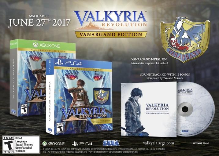 Valkyria Revolution - Vanargand Edition Xbox One