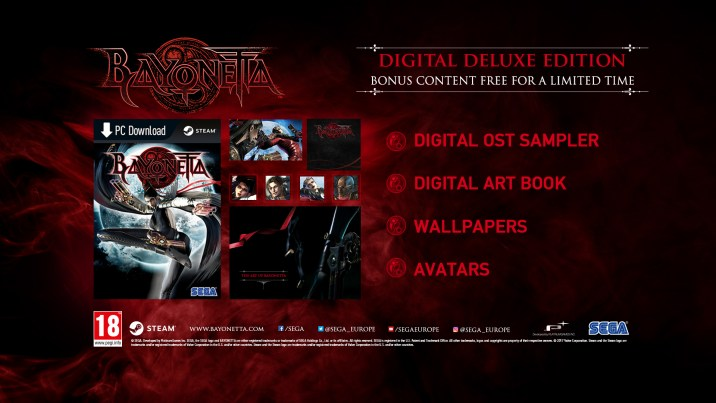 Bayonetta PC - Digital Deluxe Edition