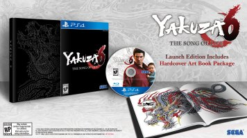 Yakuza 6 Launch Edition