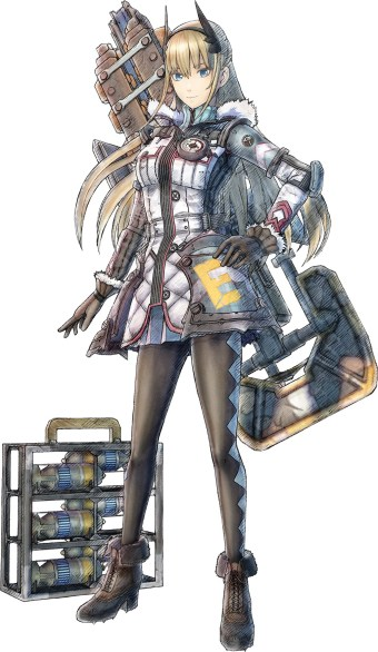 Valkyria Chronicles 4 - Riley Miller
