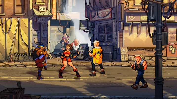Streets of Rage 4 - 1