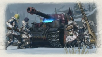 Valkyria Chronicles 4 DLC - A Captainless Squad