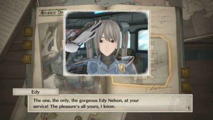 Valkyria Chronicles 4 DLC - Edy's Advanced Ops