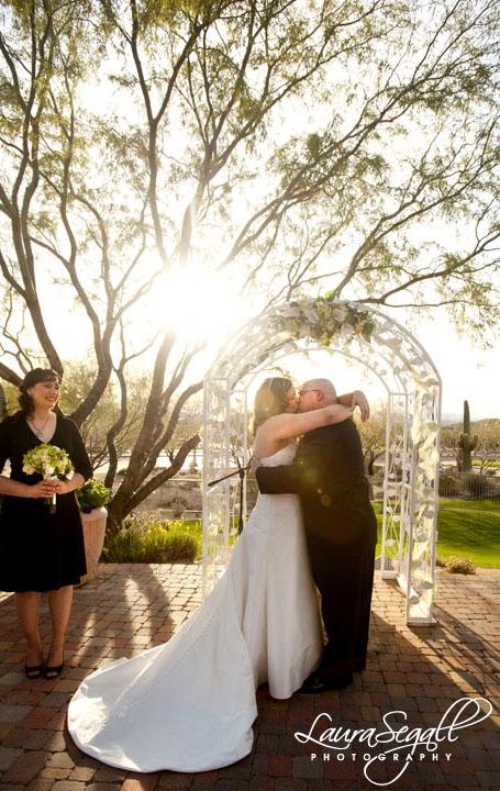 Robin and Craigs Mesa Arizona wedding  Laura Segall