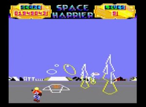 Space Harrier - Amstrad CPC [1987]