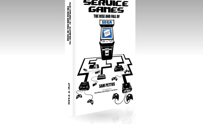 Service Games History Book Now Shipping Sega Nerds