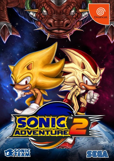 Sonic Adventure 2 by Benjamin Torres