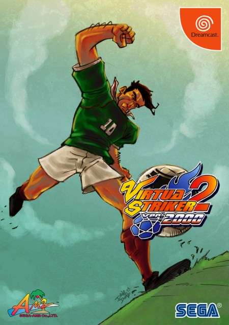 Virtua Striker 2 by Dave Domz