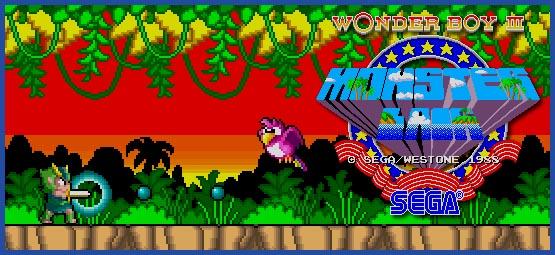 Wonder Boy - Header - Monster Lair