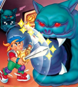 Wonder Boy - Monster World USA EU Art